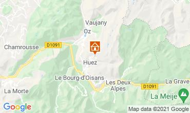 Map Alpe d'Huez Studio apartment 80613