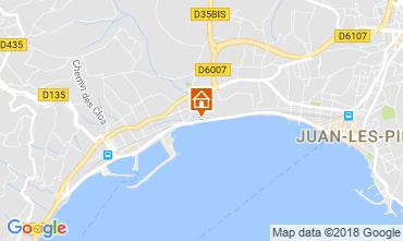 Map Juan les Pins Apartment 115924
