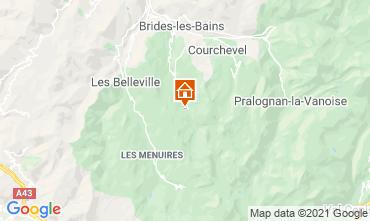 Map Méribel Apartment 28528