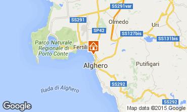 Map Alghero Apartment 44969