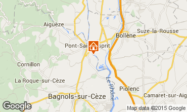 Map Pont Saint Esprit House 96050