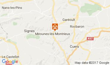 Map Hyères Villa 82417
