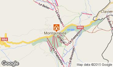 Map Montgenevre House 16964