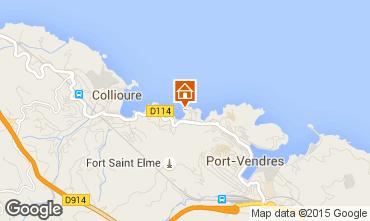 Map Collioure Flat 93240