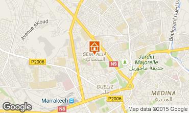 Map Marrakech Apartment 85177