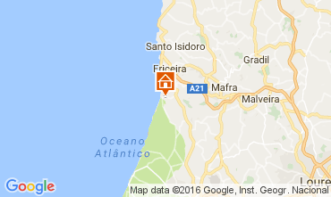 Map Ericeira Apartment 106243
