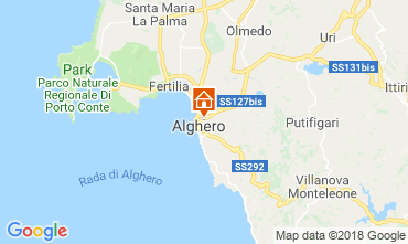 Map Alghero Apartment 60593