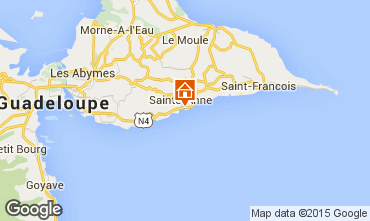 Map Sainte Anne (Guadeloupe) Apartment 73786