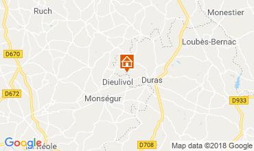 Map Duras House 116583