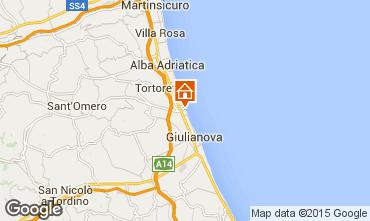Map Giulianova Apartment 23634