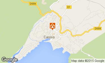Map Cassis Flat 41225