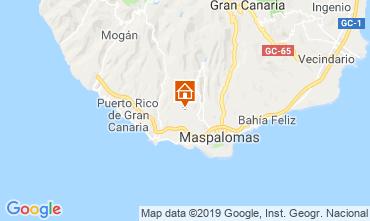 Map Playa del Inglés Villa 118828