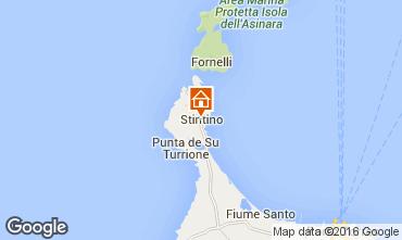 Map Stintino Studio apartment 88508
