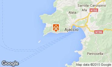 Map Ajaccio Studio apartment 95253