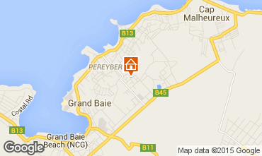 Map Grand Baie Villa 5356