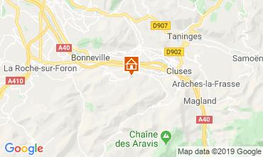 Map Mont Saxonnex Chalet 92047