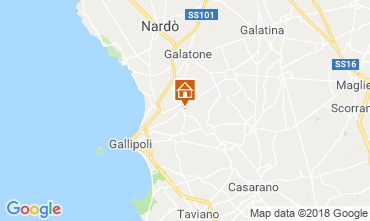 Map Gallipoli Apartment 116392