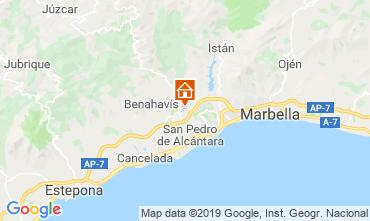 Map Marbella Villa 118980