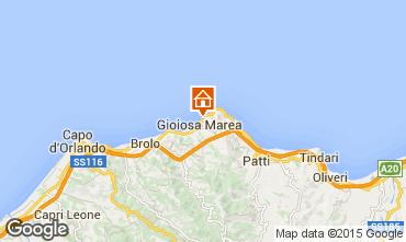Map Gioiosa Marea Apartment 64318