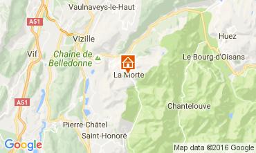 Map Alpe du Grand Serre Studio apartment 112