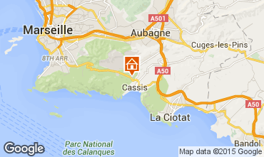 Map Cassis Apartment 42342