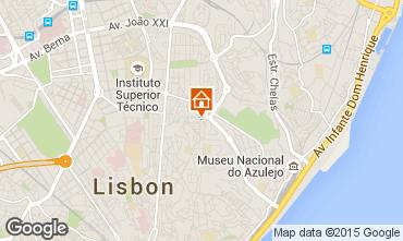 Map Lisbon Apartment 56054