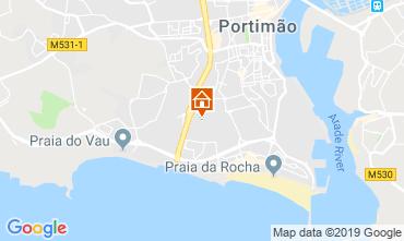 Map Portimão Apartment 90279