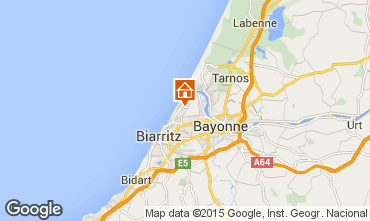 Map Anglet House 83918