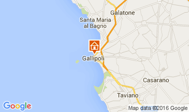 Map Gallipoli Apartment 106087