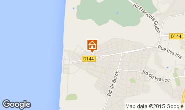 Map Le Touquet Apartment 7752
