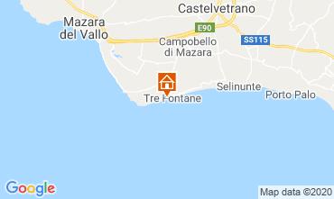 Map Tre Fontane Apartment 104376