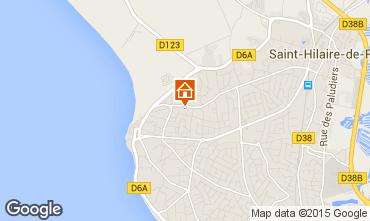 Map Saint Hilaire de Riez House 51364