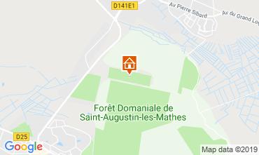 Map La Palmyre Mobile home 59404