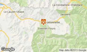 Map Pra Loup Apartment 73894