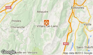 Map Villard de Lans - Corrençon en Vercors Apartment 57741