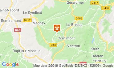 Map La Bresse B&B 118267