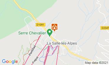 Map Serre Chevalier Chalet 41653