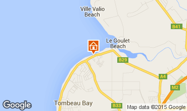 Map Tombeau Bay Villa 80681
