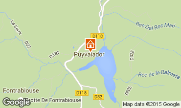 Map Puyvalador House 4886
