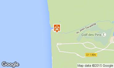 Map Hardelot House 80728