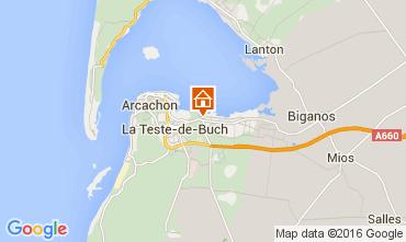 Map Arcachon House 105102