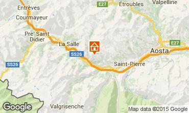 Map Saint Nicolas Self-catering property 91491