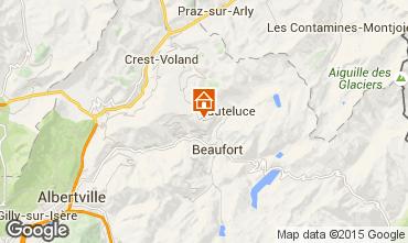 Map Les Saisies Apartment 66566