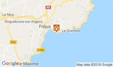 Map Saint Raphael Apartment 119263