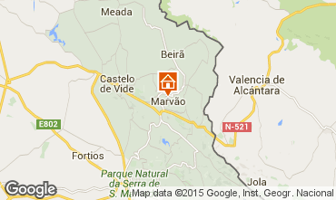 Map Marvão Self-catering property 58463