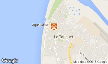 Map Le Touquet Apartment 97971