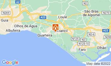 Map Almancil Apartment 107874