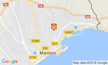 Map Menton Apartment 115764