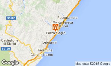 Map Taormina Apartment 98800