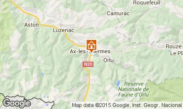 Map Ax Les Thermes Apartment 72066